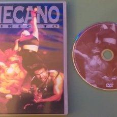 Vídeos e DVD Musicais: MECANO DVD EN DIRECTO ESPECTACULAR DIRECTO Y CONCIERTO COMO NUEVO + 5€ ENVIO CN. Lote 237387125
