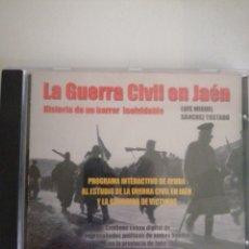 Vídeos y DVD Musicales: DVD LA GUERRA CIVIL EN JAÉN. HISTORIAS DE UN HORROR INOLVIDABLE.. Lote 237488930