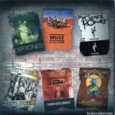 Vídeos y DVD Musicales: 6 GRUPOS: MUSE, MY CHEMICAL ROMACE, DEFTONES, MASTODON, TAKING BACK SUNDAY, DISTURBED - VARIOS DVD. Lote 237535485