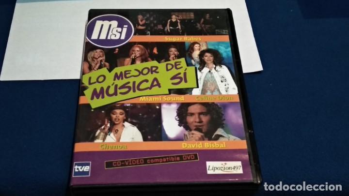 Vídeos y DVD Musicales: LO MEJOR DE MUSICA SI CD-VIDEO COMPATIBLE DVD 2002 ESPAÑA SPICE GIRLS ROBBIE WILLIAMS BISBAL BLUE - Foto 2 - 237569145