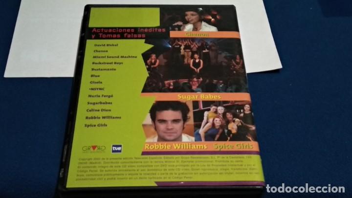 Vídeos y DVD Musicales: LO MEJOR DE MUSICA SI CD-VIDEO COMPATIBLE DVD 2002 ESPAÑA SPICE GIRLS ROBBIE WILLIAMS BISBAL BLUE - Foto 3 - 237569145