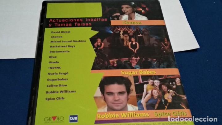 Vídeos y DVD Musicales: LO MEJOR DE MUSICA SI CD-VIDEO COMPATIBLE DVD 2002 ESPAÑA SPICE GIRLS ROBBIE WILLIAMS BISBAL BLUE - Foto 4 - 237569145