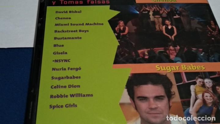 Vídeos y DVD Musicales: LO MEJOR DE MUSICA SI CD-VIDEO COMPATIBLE DVD 2002 ESPAÑA SPICE GIRLS ROBBIE WILLIAMS BISBAL BLUE - Foto 5 - 237569145