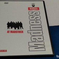 Video e DVD Musicali: DVD MADNESS. AT MADSTOCK. 75 MINUTOS CAJA FINA NUEVO. Lote 237573435
