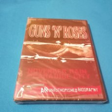 Vídeos y DVD Musicales: OFERTA ESENCIAL GUNS N' ROSES NOVEMBER RAIN IN PARADISE CITY DVD PRECINTADO AXL ROSE SLASH. Lote 102452091