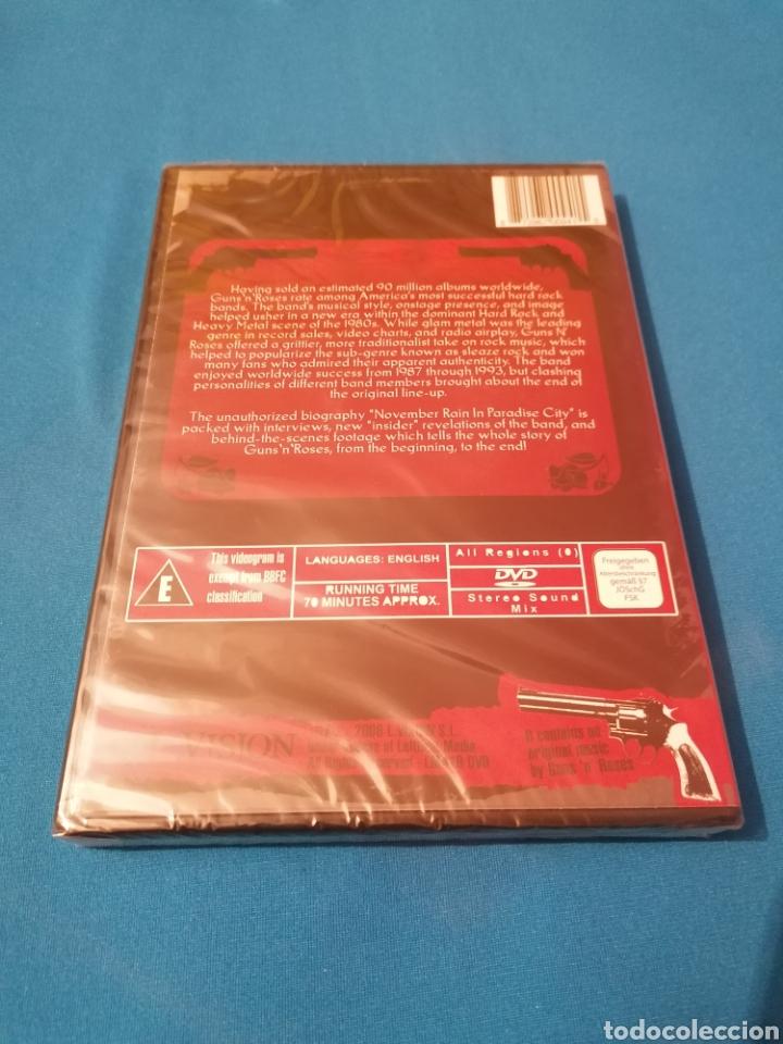Vídeos y DVD Musicales: OFERTA ESENCIAL GUNS N ROSES NOVEMBER RAIN IN PARADISE CITY DVD PRECINTADO AXL ROSE SLASH - Foto 2 - 102452091