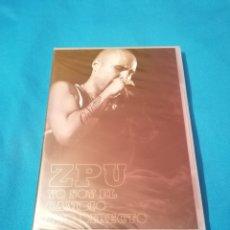 Vídeos y DVD Musicales: PEDIDO MÍNIMO 5€ ZPU YO SOY EL CAMBIO DVD DIRECTO PRECINTADO. Lote 213430616