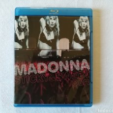 Vídeos y DVD Musicales: MADONNA, STICKY Y SWEET TOUR, DVD BLURAY. Lote 130859577