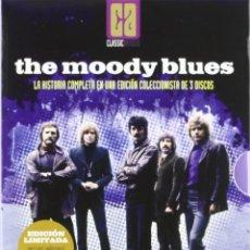 Video e DVD Musicali: THE MOODY BLUES ED LIMITADA 2DVD + 1CD - NUEVO Y PRECINTADO. Lote 260071275
