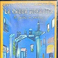 Vídeos y DVD Musicales: DVD LA CABRA MECÁNICA: NI JAULAS NI PECERAS -DVD CONCIERTO EN DIRECTO GALAPAGAR 2002. Lote 240510970