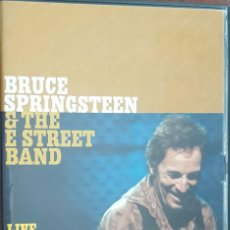 Vídeos y DVD Musicales: DVD DOBLE 2 DVD'S / BRUCE SPRINGSTEEN & THE E STREET BAND - LIVE IN BARCELONA, COMO NUEVOS. Lote 241365440