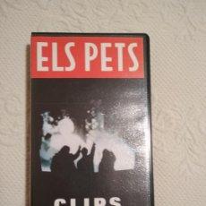 Vídeos y DVD Musicales: EL PETS CLIPS VHS. Lote 241553725