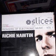 Vidéos y DVD Musicaux: DVD - SLICES - A DOCUMENTARY FILM ABOUT RICHIE HAWTIN. Lote 241714250