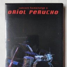 Vídeos y DVD Musicales: CONCERT HOMENATGE ORIOL PERUCHO, UN DOCUMENTAL DE JOSEP JORDANA Y MARTÍ SANTS. Lote 243180350