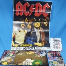 Vídeos y DVD Musicales: AC DC - PLUG ME IN - 3 DVD + PÓSTER. Lote 243354875