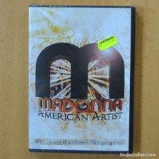 Vídeos y DVD Musicales: MADONNA - AMERICAN ARTIST - DVD. Lote 243784250