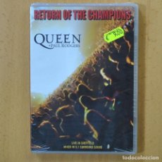 Vídeos y DVD Musicales: QUEEN - RETURN OF THE CHAMPIONS - DVD. Lote 243784255