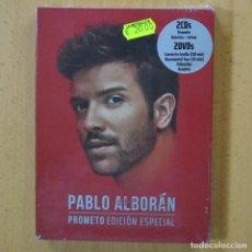 Vídeos y DVD Musicales: PABLO ALBORAN - PROMETO - 2 DVD + 2 CD. Lote 243784295
