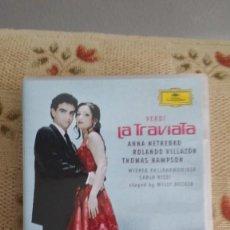 Vídeos y DVD Musicales: VERDI: LA TRAVIATA. NETREBKO, VILLAZÓN. CARLO RIZZI. DG. DVD. Lote 243829420