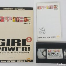 Vídeos y DVD Musicales: SPICE GIRLS. LIBRO SIN POSTER Y VIDEO VHS. Lote 243842445
