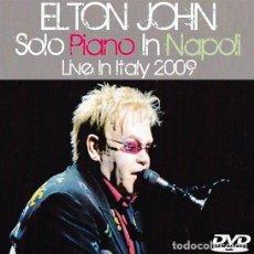 Vídeos y DVD Musicales: ELTON JOHN - LIVE IN NAPOLI, ITALY 2009 (DVD). Lote 243873440