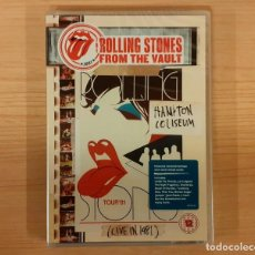 Vídeos y DVD Musicales: ROLLING STONES FROM THE VAULT HAMPTON COLISEUM LIVE IN 1981 NUEVO!!!. Lote 244179605
