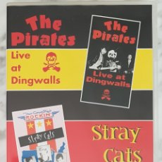 Vídeos y DVD Musicales: DVD STRAY CATS / THE PIRATES. CONCIERTOS. ROCK & ROLL. ROCKABILLY. Lote 244401600