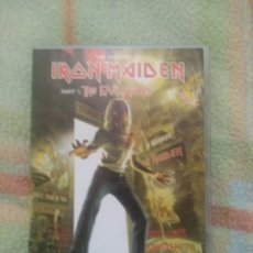 Vídeos y DVD Musicales: IRON MAIDEN THE EARLY DAYS 2 DVD'S. Lote 244408745