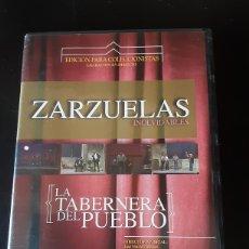 Vídeos y DVD Musicales: ZARZUELAS INOLVIDABLES. LA TABERNERA DEL PUEBLO. Lote 244479610