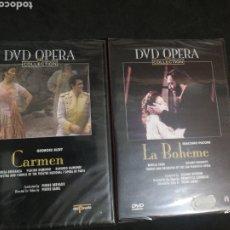 Vídeos y DVD Musicales: OPERA CARMEN Y LA BOHEME PRECINTADAS. Lote 244591915