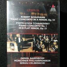 Vídeos y DVD Musicales: CONCIERTO DANIEL BARENBOIM, FILARMÓNICA DE MUNICH. VHS. Lote 244601705