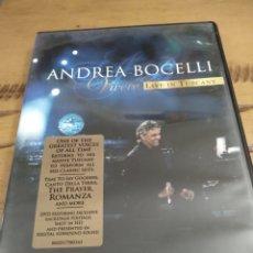 Vídeos y DVD Musicales: ANDREA BOCELLI. VIVERE LIVE IN TUSCANY. Lote 244602055