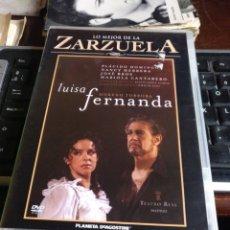 Vídeos y DVD Musicales: LUISA FERNANDA. Lote 244839345