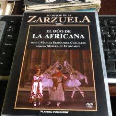 Vídeos y DVD Musicales: EL DÚO DE LA AFRICANA. Lote 244839655
