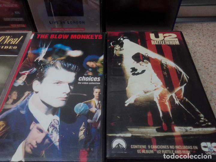 Vídeos y DVD Musicales: LOTE 6 VIDEOS VHS, U2, THE BLOW MONKEIS, ALEXANDER ONEAL, JAMES BROWN, JANET JACKSONS,BOBBY BROWN. - Foto 4 - 245123550