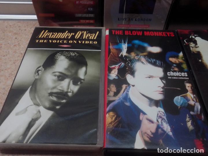 Vídeos y DVD Musicales: LOTE 6 VIDEOS VHS, U2, THE BLOW MONKEIS, ALEXANDER ONEAL, JAMES BROWN, JANET JACKSONS,BOBBY BROWN. - Foto 5 - 245123550