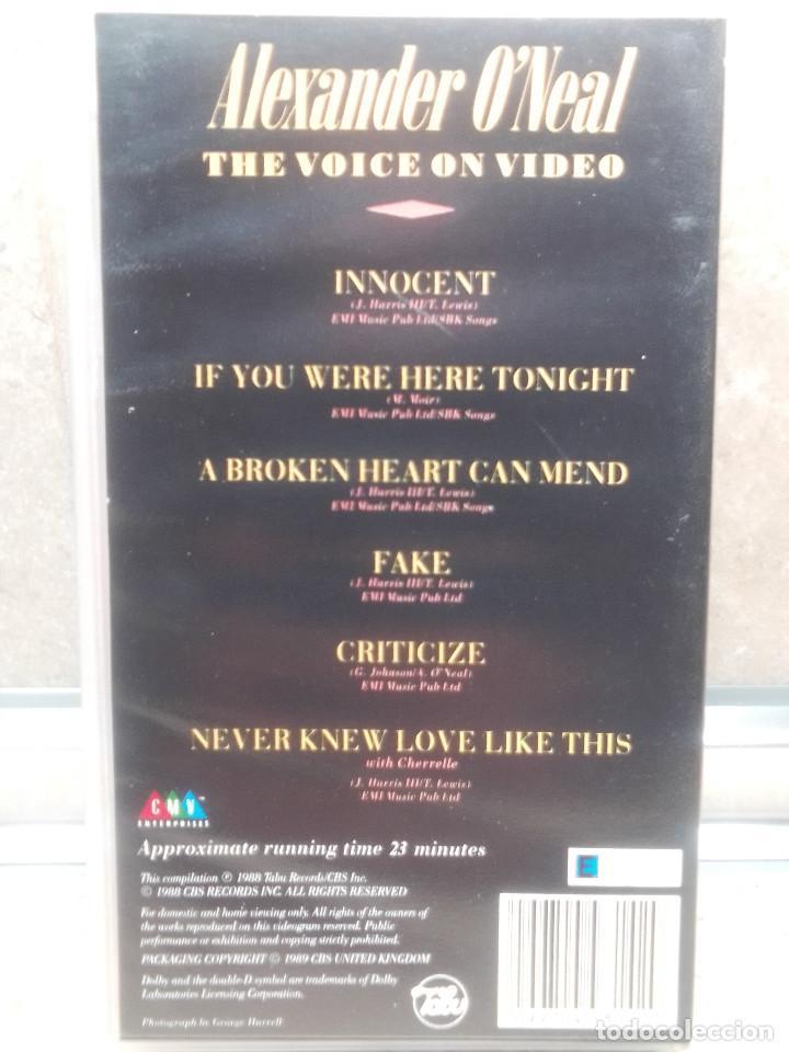 Vídeos y DVD Musicales: LOTE 6 VIDEOS VHS, U2, THE BLOW MONKEIS, ALEXANDER ONEAL, JAMES BROWN, JANET JACKSONS,BOBBY BROWN. - Foto 6 - 245123550