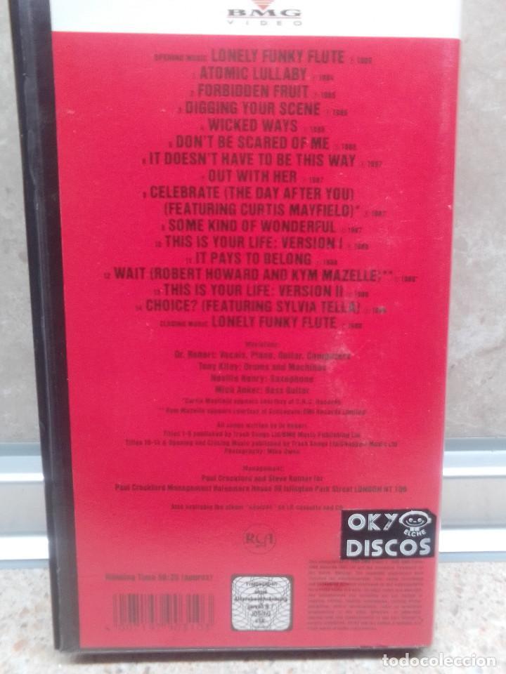 Vídeos y DVD Musicales: LOTE 6 VIDEOS VHS, U2, THE BLOW MONKEIS, ALEXANDER ONEAL, JAMES BROWN, JANET JACKSONS,BOBBY BROWN. - Foto 8 - 245123550