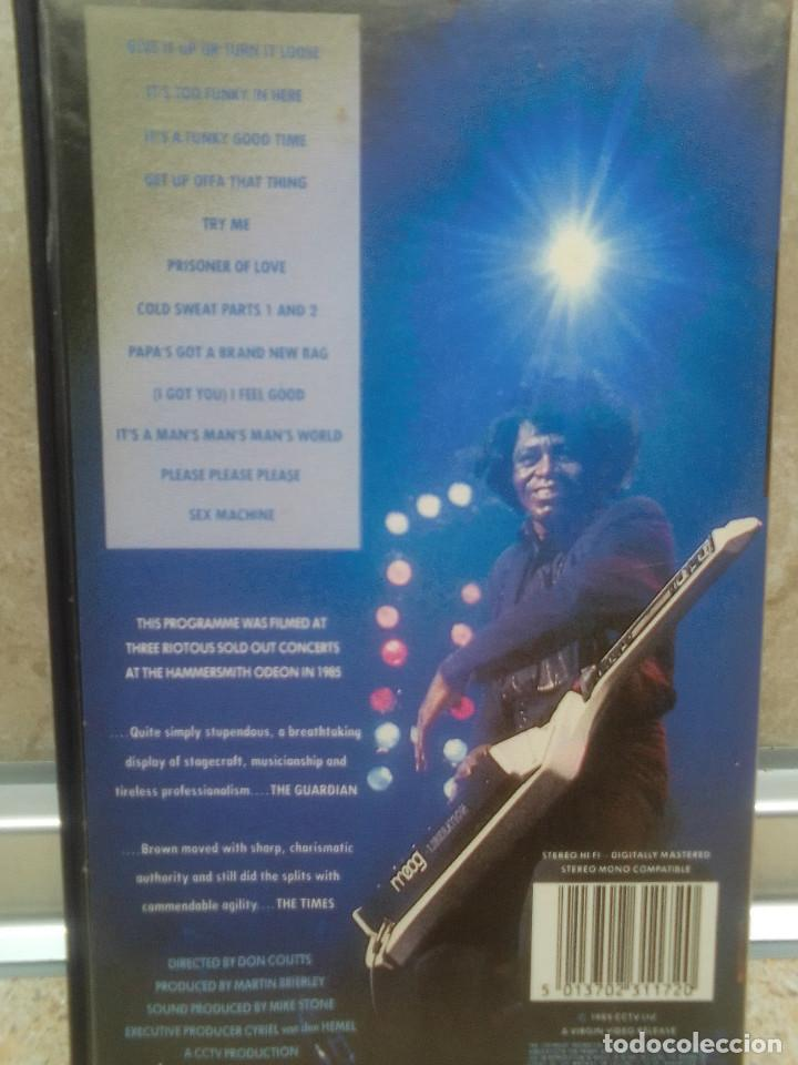 Vídeos y DVD Musicales: LOTE 6 VIDEOS VHS, U2, THE BLOW MONKEIS, ALEXANDER ONEAL, JAMES BROWN, JANET JACKSONS,BOBBY BROWN. - Foto 9 - 245123550