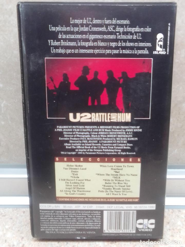 Vídeos y DVD Musicales: LOTE 6 VIDEOS VHS, U2, THE BLOW MONKEIS, ALEXANDER ONEAL, JAMES BROWN, JANET JACKSONS,BOBBY BROWN. - Foto 11 - 245123550