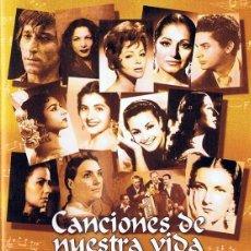Vídeos y DVD Musicales: CANCIONES DE NUESTRA VIDA. Lote 245180100