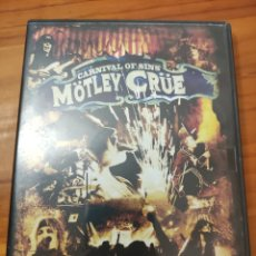 Vidéos y DVD Musicaux: DOBLE DVD MOTLEY CRUE. CARNIVAL OF SINS. Lote 245296740