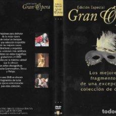 Vídeos y DVD Musicales: LOS MEJORES FRAGMENTOS DE LA COLECCIÓN - EDICIÓN ESPECIAL GRAN ÓPERA. Lote 246428695