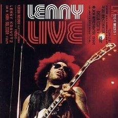 Vídeos y DVD Musicales: LENNY LIVE - DVD PRECINTADO DE LENNY KRAVITZ EN DIRECTO. Lote 246714295