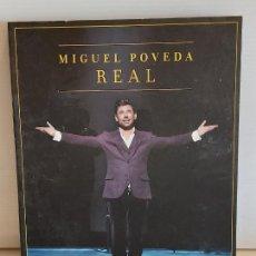 Vídeos y DVD Musicales: MIGUEL POVEDA / REAL / TEATRO REAL DE MADRID-2012 / CD+DVD+LIBRETO / DE LUJO.. Lote 246886625