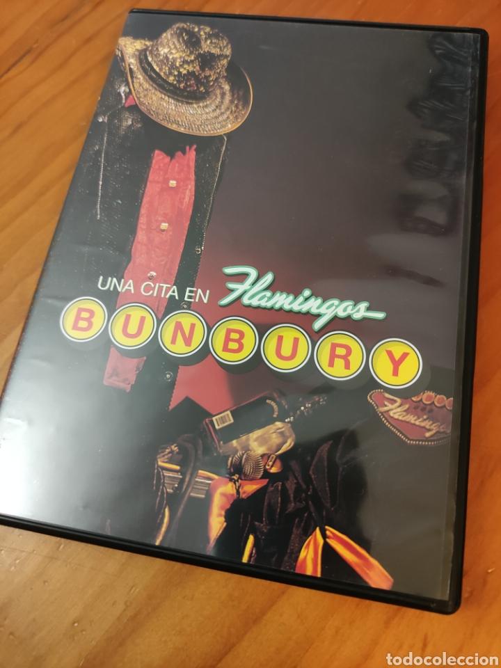 DVD BUNBURY. UNA CITA EN FLAMINGOS (Música - Videos y DVD Musicales)