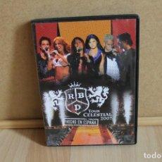 Video e DVD Musicali: DVD REBELDE RBD TOUR CELESTIAL 2007 HECHO EN ESPAÑA. Lote 247286250