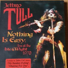 Vídeos y DVD Musicales: CD TOLL: NOTHING IS EASY LIVE AT THE ISLE & WIGHT 1970. Lote 248493710