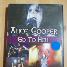 Vídeos y DVD Musicales: ALICE COOPER GO TO HELL (DVD). Lote 249596245