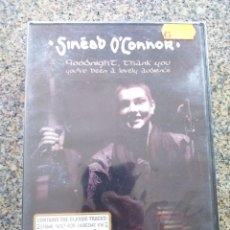 Vidéos y DVD Musicaux: DVD -- SINED O'CONNOR -- GOODNIGHT THANK YOU -- PRECINTADO --. Lote 251029335